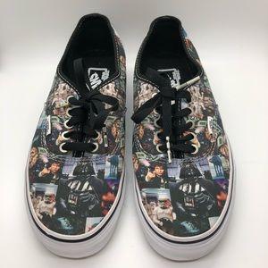 Star Wars Vans Collage Mens 8 Women's 9.5 sneakers